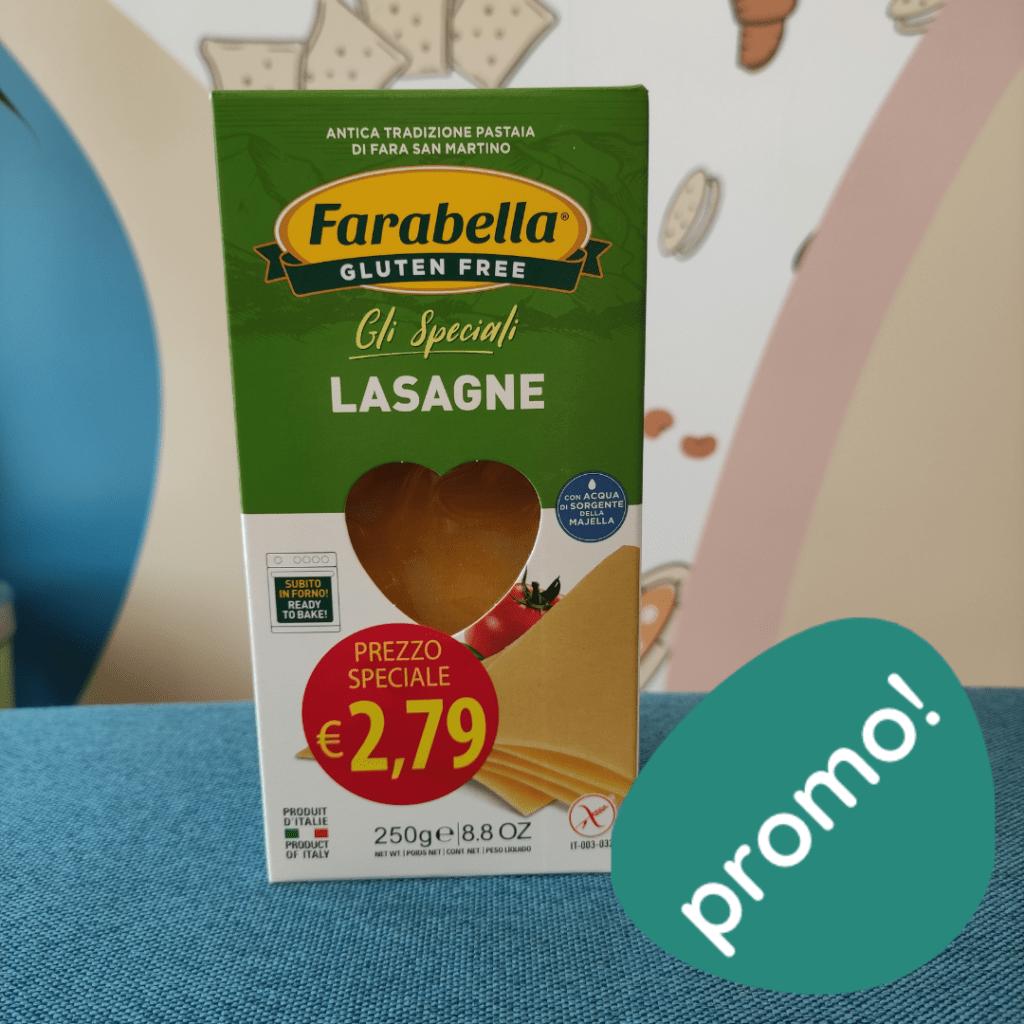 lasagne farabella senza glutine