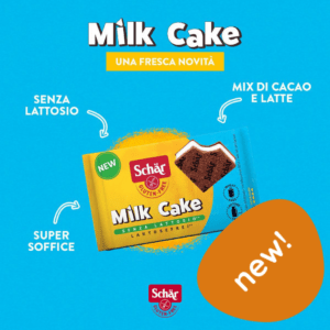 milkcake senza glutine senza lattosio